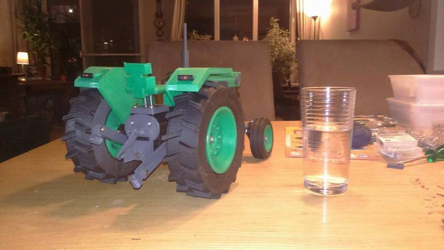OpenRC Tractor 3D Print 16514