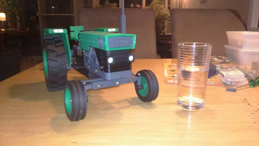 OpenRC Tractor 3D Print 16515