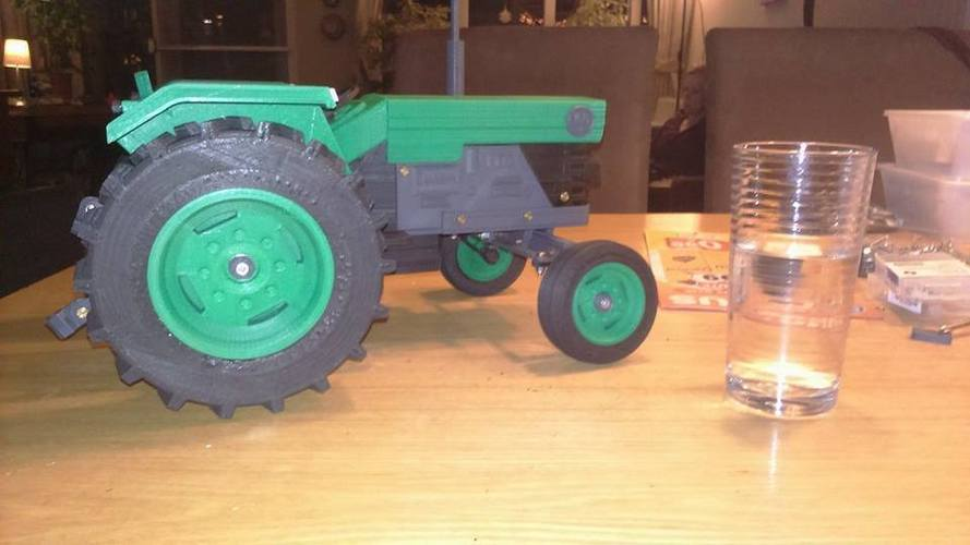 OpenRC Tractor 3D Print 16517