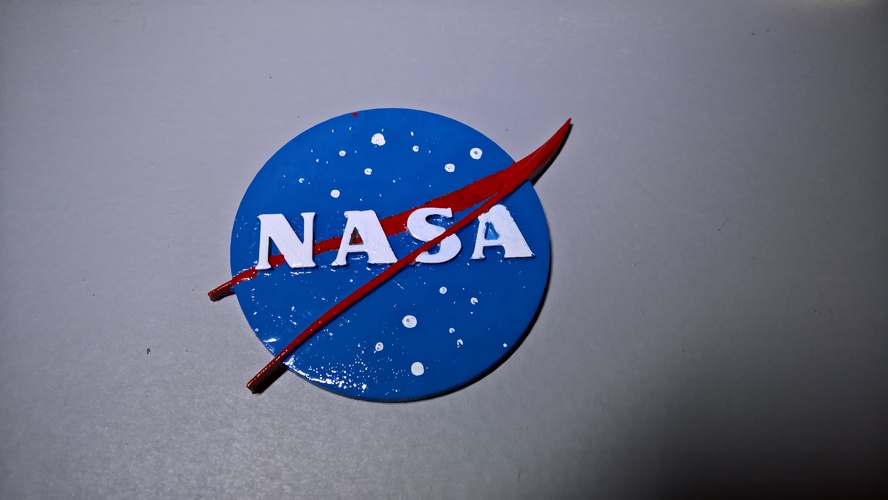NASA badge 3D Print 16569