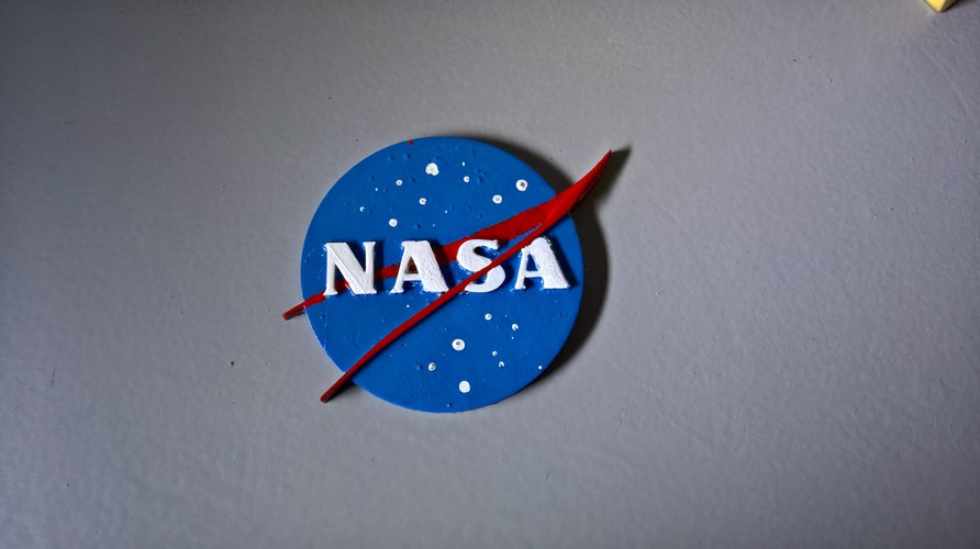 NASA badge 3D Print 16570