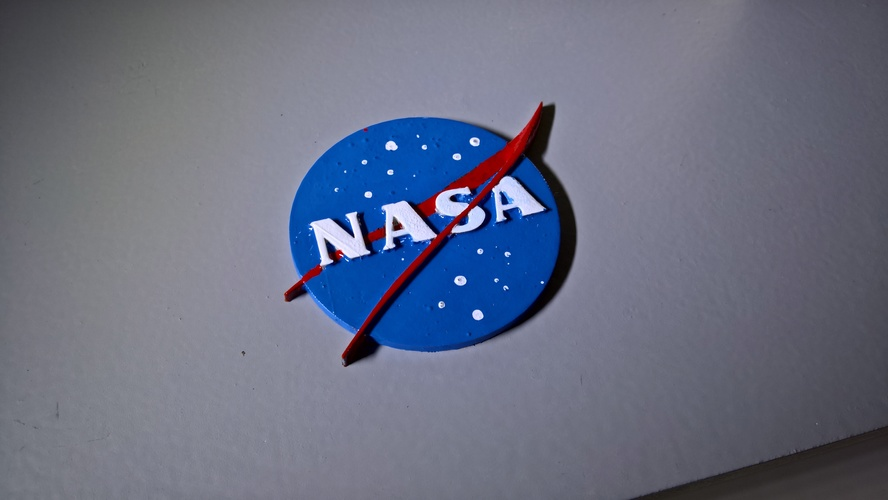 NASA badge 3D Print 16571