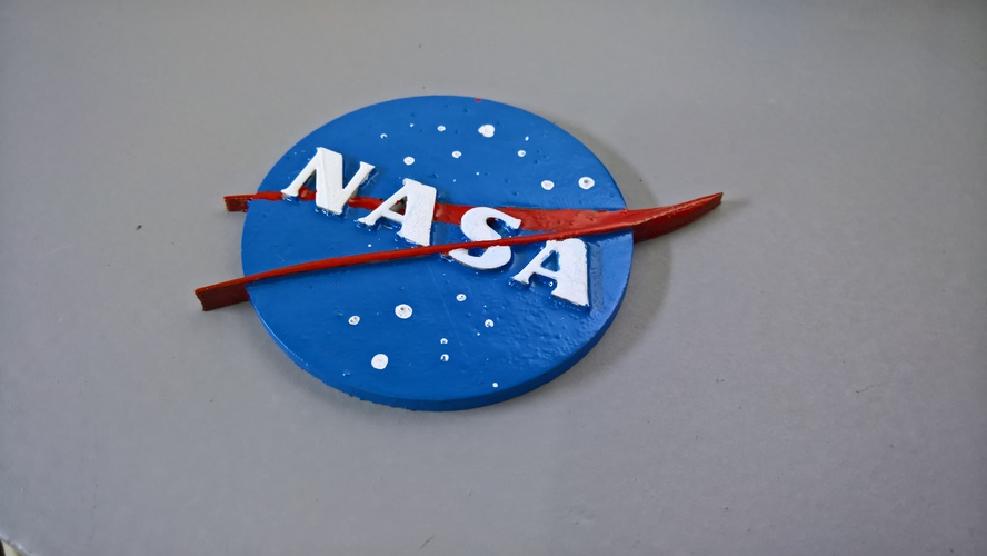 NASA badge 3D Print 16573