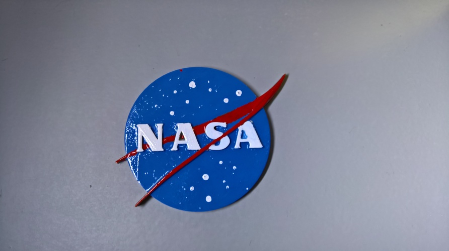 NASA badge 3D Print 16574