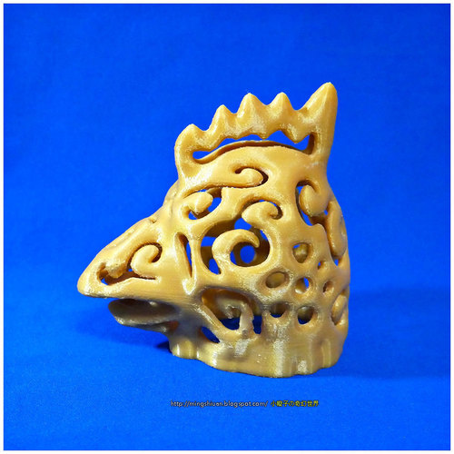Rooster Lamps 3D Print 16595