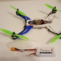 Small D2R2 Quadcopter 260 Frame 3D Printing 16637