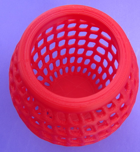 Egg Vase Bowl Holder Basket Thing 3D Print 167