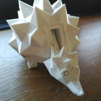 Small The Hedgehog 3D Printing 1671