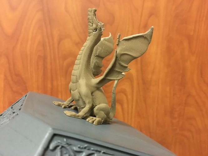 Adalinda: The Singing Serpent 3D Print 16793