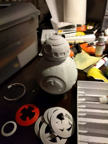 BB8 DROID - STAR WARS: THE FORCE AWAKENS 3D Print 16800