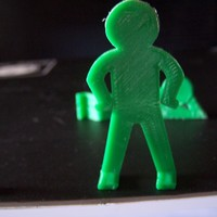 Small Thin Man 3D Printing 16860