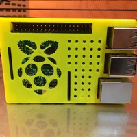 Small Raspberry Pi case (model B+ / 2 / 3) 3D Printing 16861