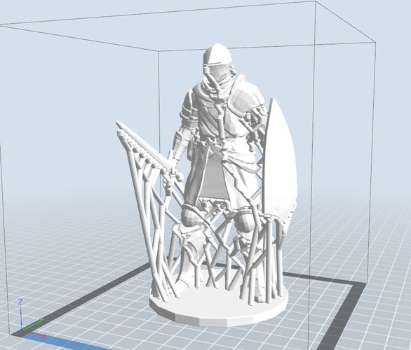 Elite Knight - Dark souls  3D Print 16963