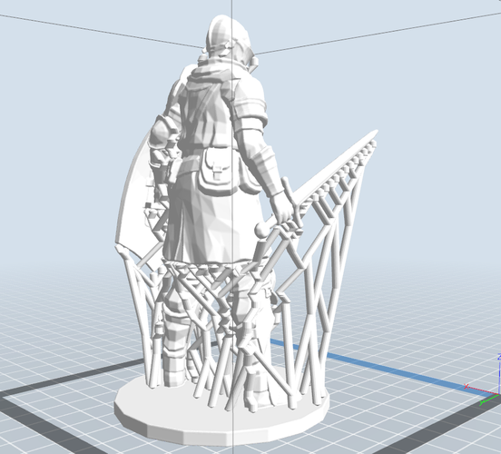Elite Knight - Dark souls  3D Print 16964