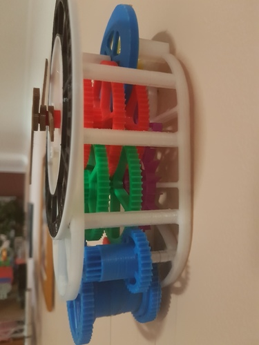 3D printed mechanical Clock with Anchor Escapement 3D Print 17032