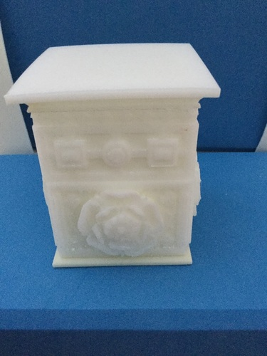 The Tudor Rose Box (with secret lock) 3D Print 17039