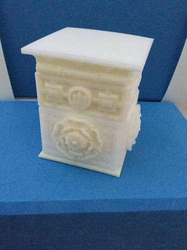 The Tudor Rose Box (with secret lock) 3D Print 17040