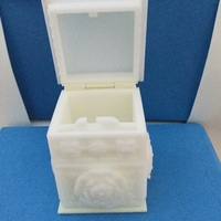 Small The Tudor Rose Box (with secret lock) 3D Printing 17041