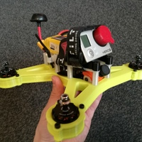 Small OpenRC 220 FPV Mini Quad 3D Printing 17098