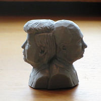 Small Bust of World's Greatest Leaders 3D Printing 17102