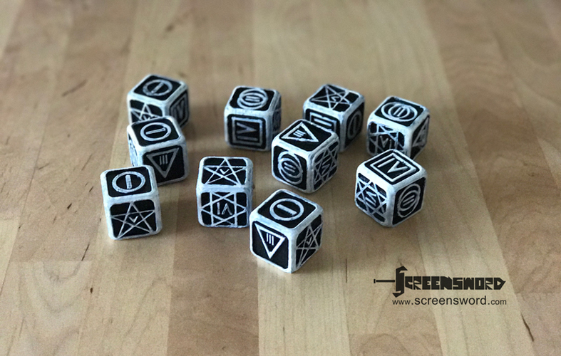 Poker Dice for Dice Poker (Witcher 2) 3D Print 17106