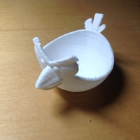 Small Angry Bird Egg Cup 3D Printing 17141