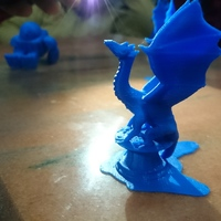 Small Aria the Dragon 3D Printing 17222