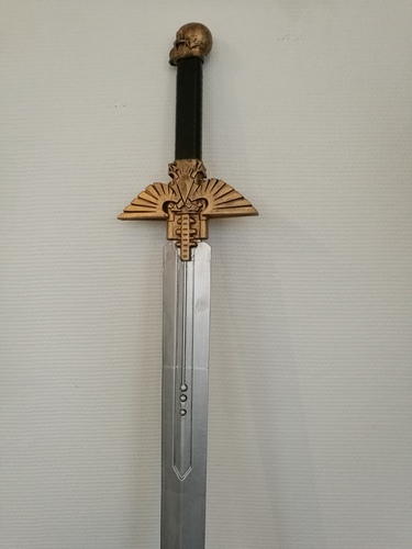 Warhammer 40K - Inquisitor Sword 3D Print 17251