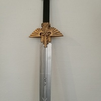 Small Warhammer 40K - Inquisitor Sword 3D Printing 17251
