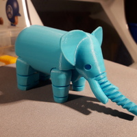 Small Elephant 3D Printing 17271