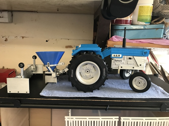 OpenRC Tractor 3D Print 17294