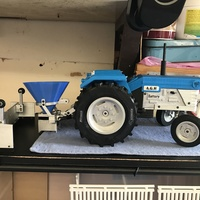 Small OpenRC Tractor 3D Printing 17294