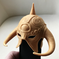 Small Death Dealer (inspired) helmet 3D Printing 17298