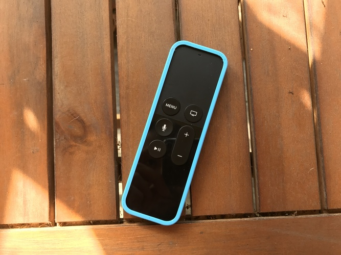 Apple TV Remote Bumper (Ninjaflex) 3D Print 17359
