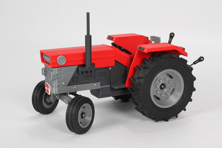 OpenRC Tractor 3D Print 17523