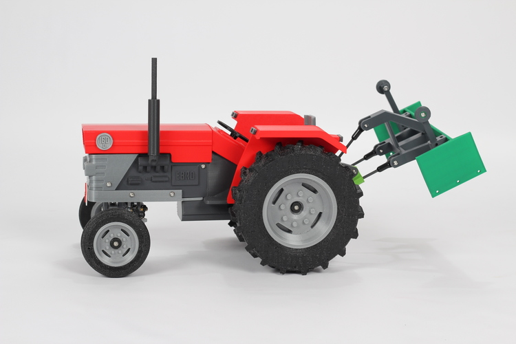 OpenRC Tractor 3D Print 17526