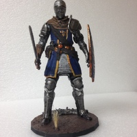 Small Elite Knight - Dark souls  3D Printing 17529