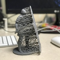 Small Elite Knight - Dark souls 3D Printing 17595