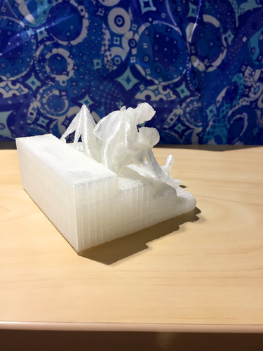 Butterfly's Rest Stoop 3D Print 17604