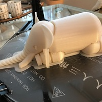 Small Elephant 3D Printing 17605