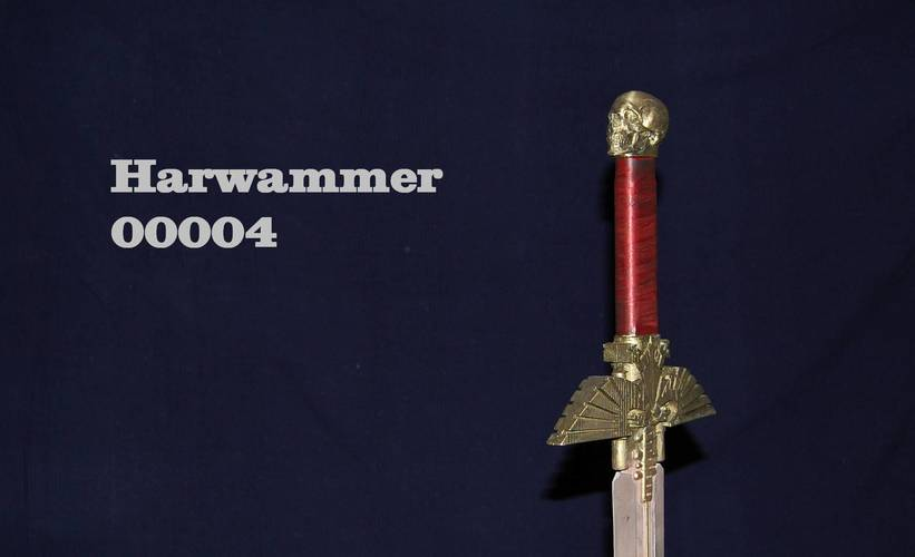 Warhammer 40K - Inquisitor Sword 3D Print 17645