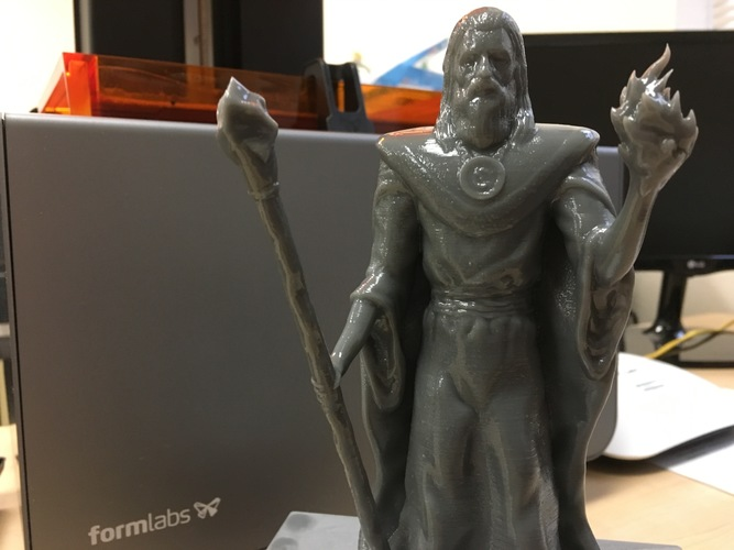 Lord Kavra - Prints With No Supports! - Original Mage Character 3D Print 17770
