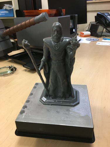 Lord Kavra - Prints With No Supports! - Original Mage Character 3D Print 17772
