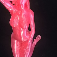 Small the nude panther v2 3D Printing 1778