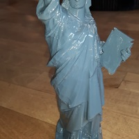 Small Statue of Liberty - Repaired 3D Printing 17781