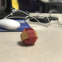 Small Baffling Puzzle Ball 3D Printing 17856
