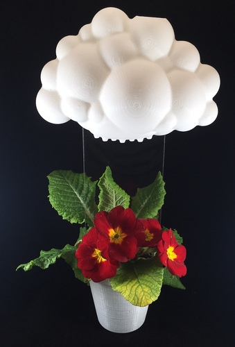 Rainy Cloud Planter 3D Print 17870