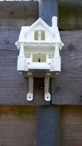 the American Craftsman Bungalow Birdhouse 3D Print 17913