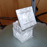 Small The Tudor Rose Box (with secret lock) 3D Printing 17974