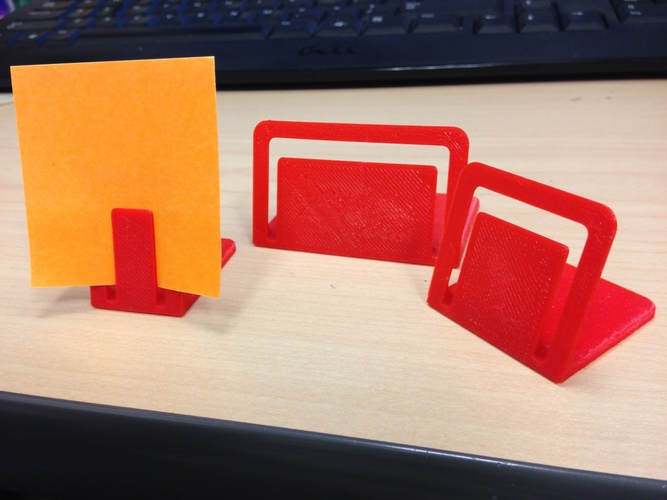 Card stand 3D Print 17998